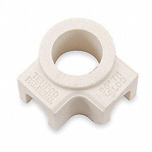 Ceramic Terminal Covers,2 Ports 90D,PK10