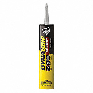 White 10.3 oz. Construction Adhesive, 20 min. Curing Time, 1 EA