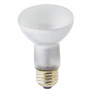 45 Watts Incandescent Lamp, R20, Medium Screw (E26), 380 Lumens, 2800K Bulb Color Temp.
