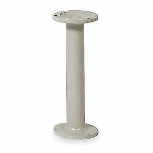 Bench Pedestal,H 16-3/4 In,Cast Iron