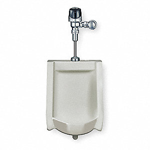 "Washdown Wall Urinal, 0.125 Gallons per Flush, 25""H x 17""W, White"