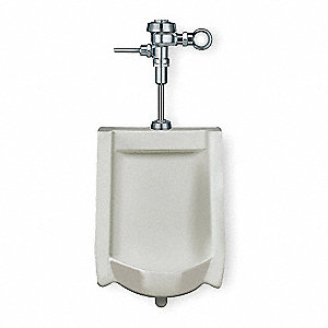 Urinal,Washout,1/8 Gallon,Flushometer