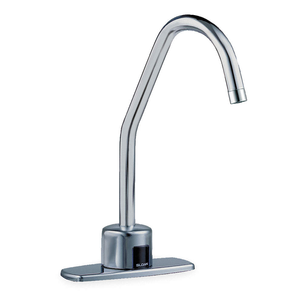 SLOAN Brass Bathroom Faucet, Sensor Handle Type, No. of Handles: 0 ...
