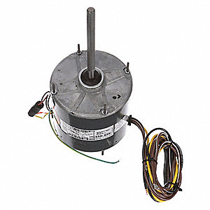 1/3 HP Condenser Fan Motor,Permanent Split Capacitor,1075 Nameplate RPM,208-230 Voltage,Frame 48