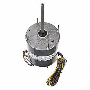 1/2 HP Condenser Fan Motor,Permanent Split Capacitor,1075 Nameplate RPM,208-230 Voltage,Frame 48