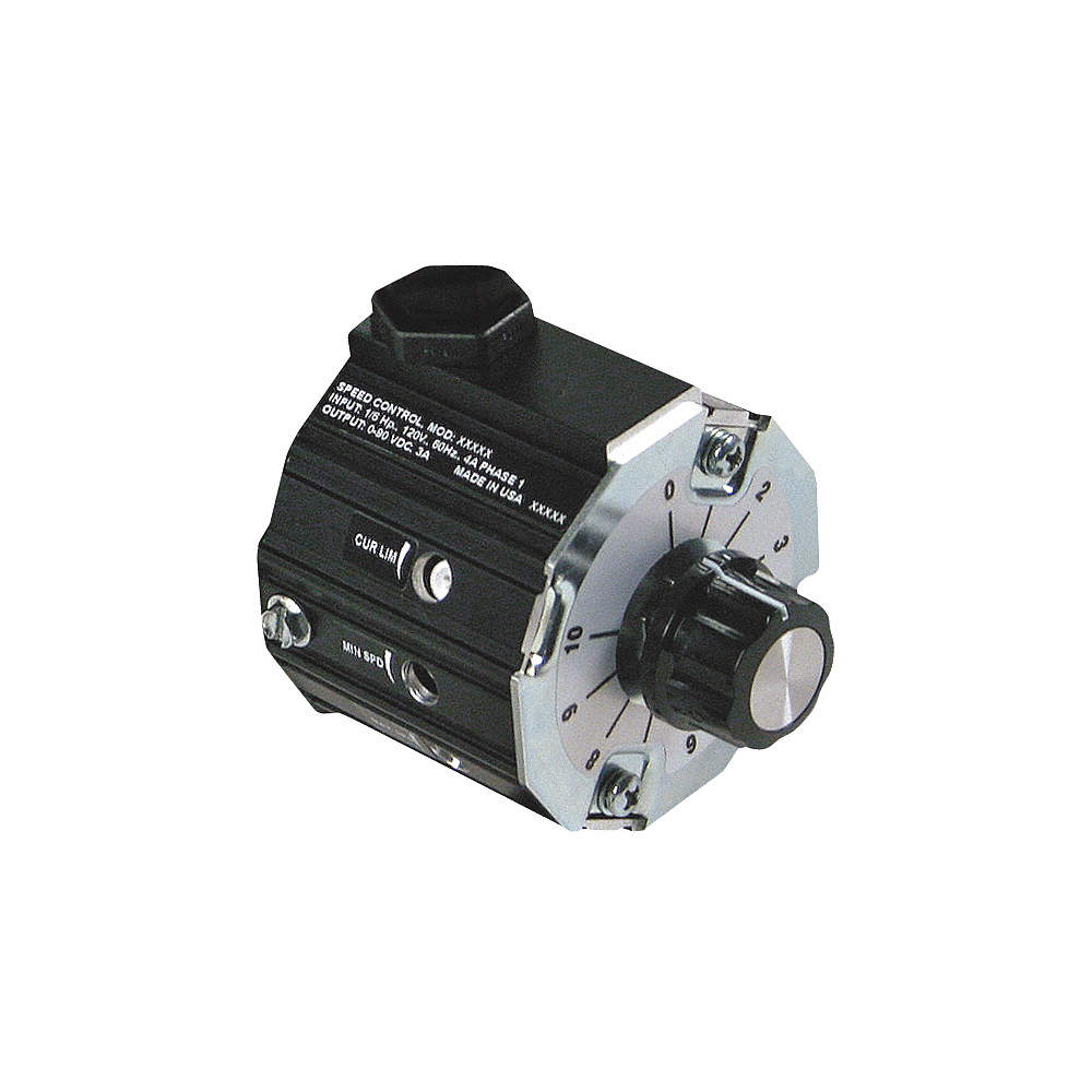 DAYTON DC Speed Control,IP30,0 to 90VDC Voltage Output,3 Max. Amps ...