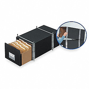 Bankers Box Drawer,Letter,Blk,PK6