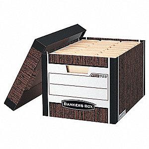BANKER BOX,LTR/LGL,WOODGRAIN,PK12