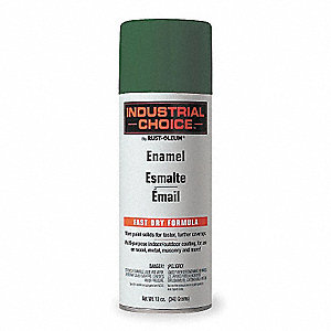 Electric Green Electrical Utility Industry Spray Paint, Gloss Finish, 12 oz.
