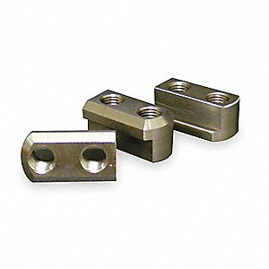 Jaw Nut,Steel,6 In Kitagawa,B-206,PK3