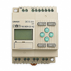 Programmable Relay, 12 to 24VDC Input Voltage, 30.0 Amps, Relay Output Type