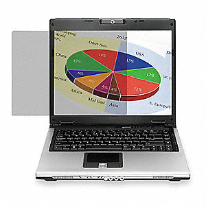 Privacy Filter, 18.1in. Laptop/LCD, Black