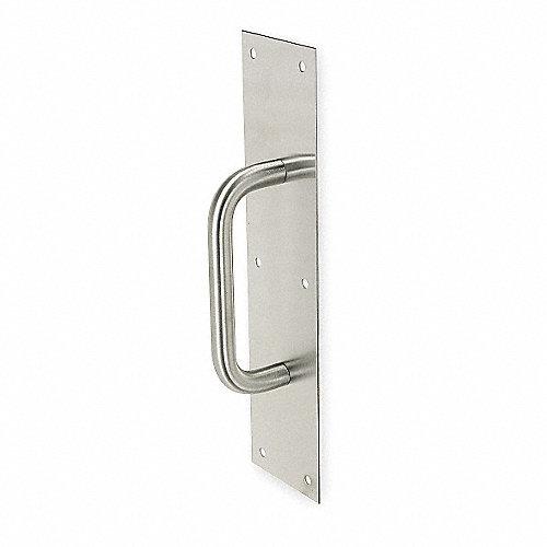 Rockwood placa con jaladera acero inoxidable placas de - Placa acero inoxidable ...