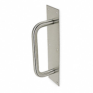 Pull Plate, Barrier-Free, Antimicrobial