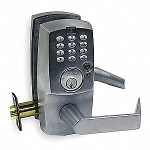 Cobra Programmable Lock Satin Chrome 2hub4 Kc5196 2 06