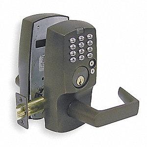 Schlage Programmable Lock 120 User Bronze 2rj76 Kc5196