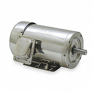10 HP Washdown Motor,3-Phase,1760 Nameplate RPM,208-230/460 Voltage,Frame 215TC