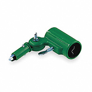 Universal Adapter,Nylon Plastic,Green