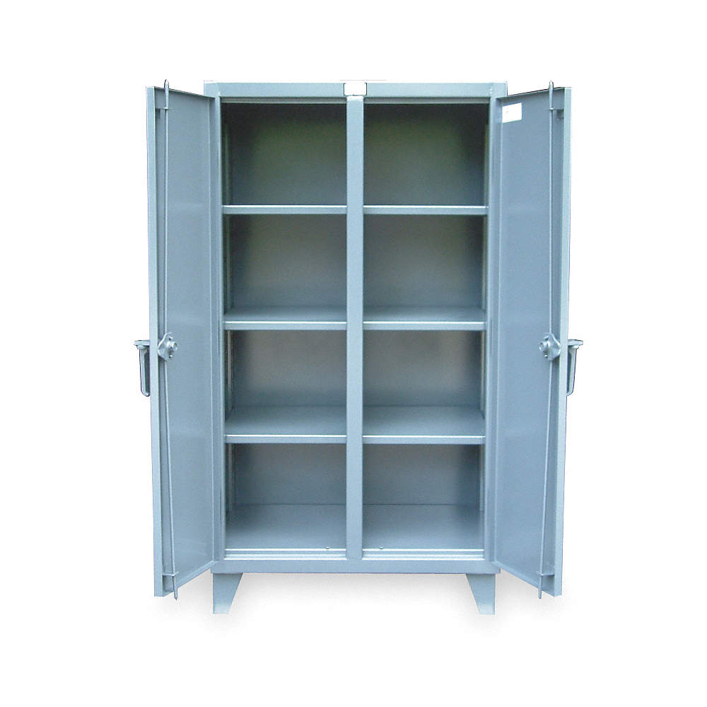 STRONG HOLD Heavy Duty Storage Cabinet, Dark Gray, 66\