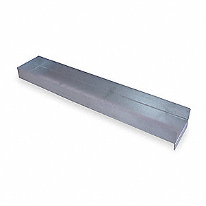 Shelf Divider,2 In. H,5 In. W,27 In. D