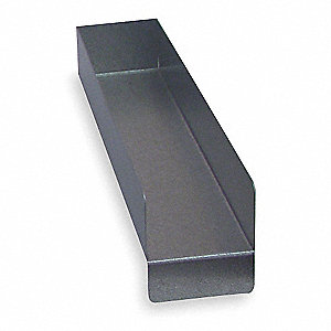 Shelf Divider,2 In. H,3 In. W,14 In. D