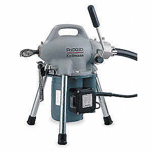 Sectional Drain Cleaning Machine, 1/6 HP