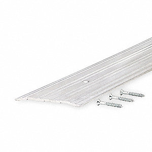 "3 ft. x 5"" x 1/4"" Low Profile Saddle Threshold, Silver"