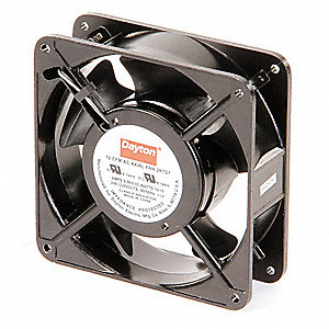 Axial Fan,230VAC,4-11/16In H,4-11/16In W