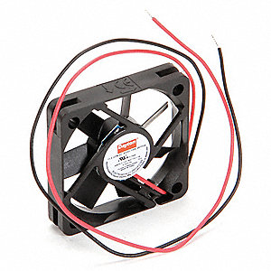 "Square Axial Fan, 1-15/16"" Width, 1-15/16"" Height, 5VDC Voltage"