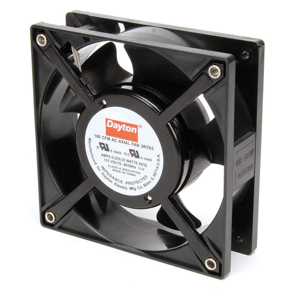 115VAC 4-11//16 Square Axial Fan