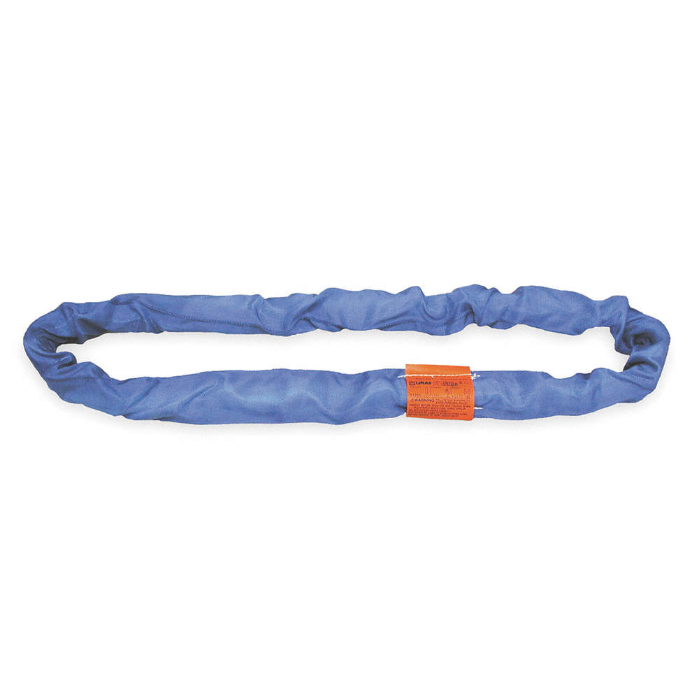 Type 5 Round Sling 1-3//4 Diameter Polyester Color Code: Blue Endless 20 ft