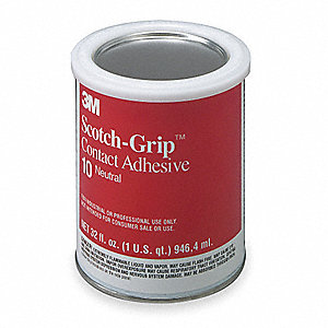 1 qt. Neoprene 10 Contact Adhesive, Multipurpose, Yellow