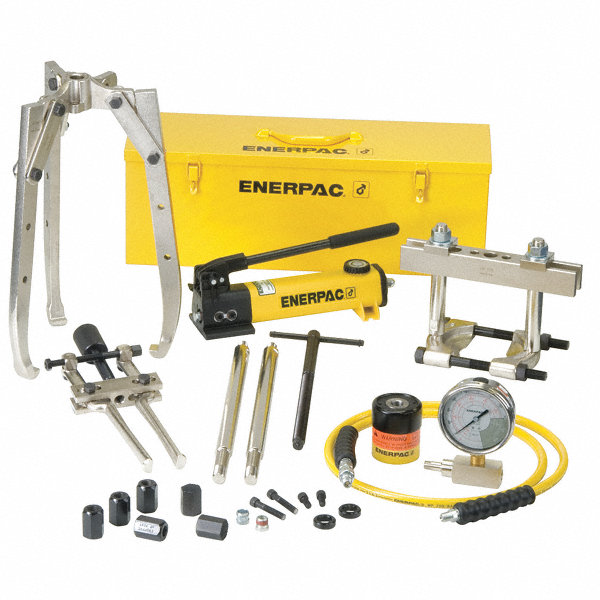 Enerpac Injector Puller : Enerpac hydraulic puller set ton tonnage capacity