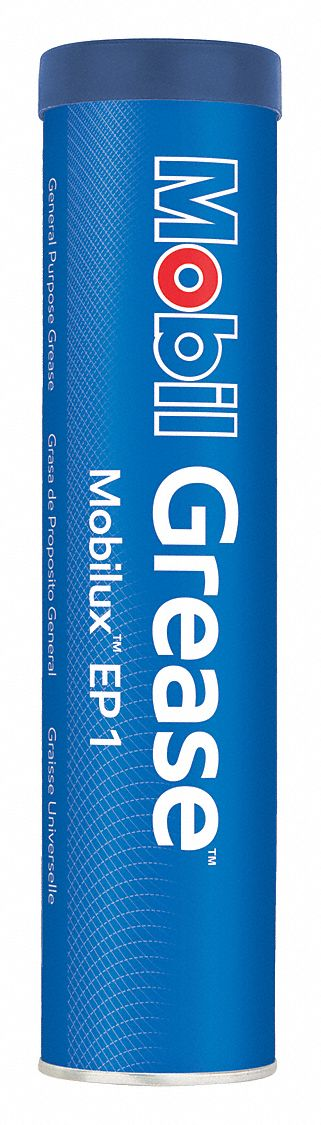 Mobilux® EP 1,  Brown,  Lithium,  Extreme Pressure Grease,  13.7 oz,  1 NLGI Grade