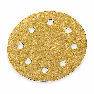 "5"" Hook-and-Loop Sanding Disc, Aluminum Oxide, 220 Grit, Very Fine, Coated, A290, EA1"