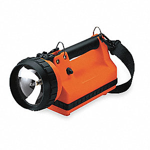 LanternHalogen, Plastic, Maximum Lumens Output: 400, Orange, 11.50""