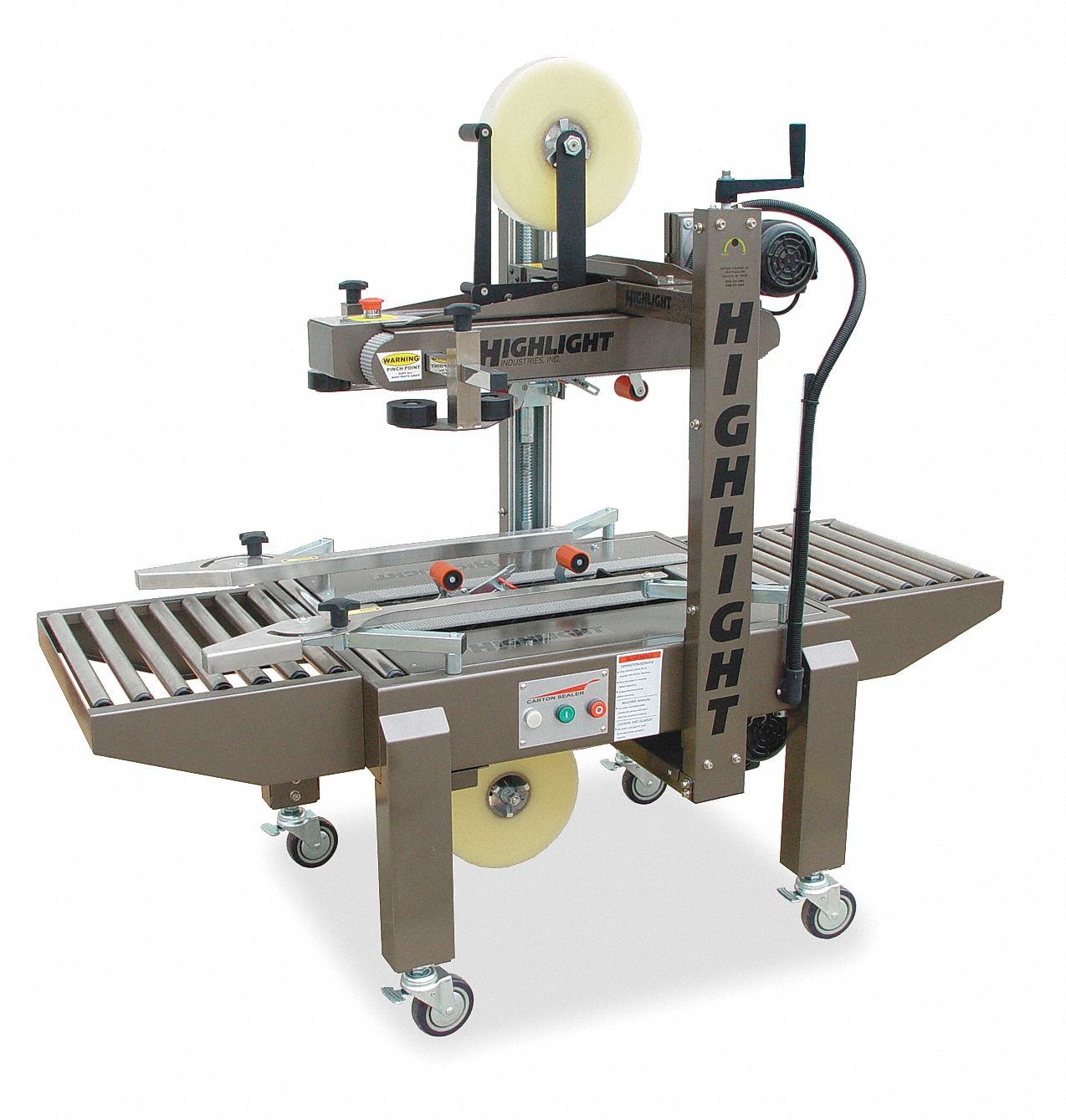 Case Sealer,  For Maximum Tape Width 2 in,  For Maximum Tape Roll Diameter 16 in