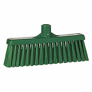 "Synthetic Broom Head, 12"" Sweep Face"