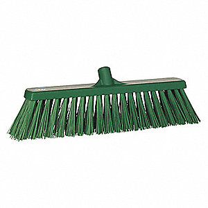 "Synthetic Broom Head, 19"" Sweep Face"