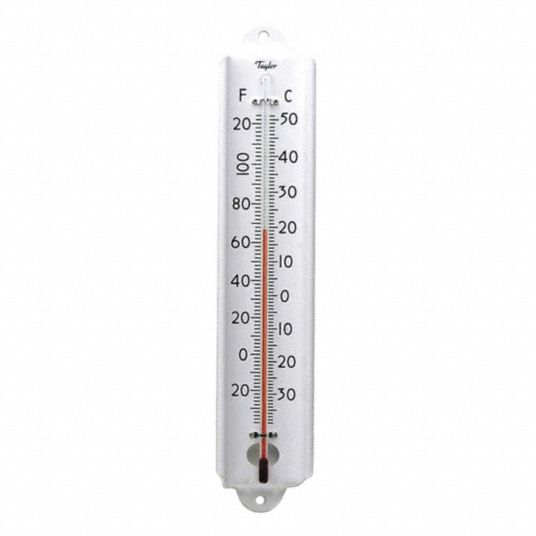 Taylor Analog Thermometer 30 To 120 Degree F 2t706 1105 Grainger