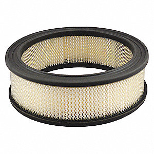 "Air Filter, Round, 2-1/4"" Height, 2-1/4"" Length, 6-29/32"" Outside Dia."