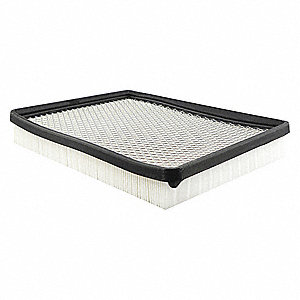 "Air Filter, Panel, 1-9/16"" Height, 10-5/8"" Length"