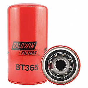 Oil/Hydraulic Filter, Spin-On Filter Design