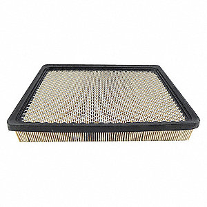 "Air Filter, Panel, 1-21/32"" Height, 10-19/32"" Length"