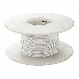 100 ft. Kynar® KSW Wire Wrapping Wire with 24 AWG Wire Size, White