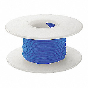 100 ft. Kynar® KSW Wire Wrapping Wire with 28 AWG Wire Size, Blue