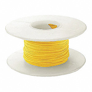 100 ft. Kynar® KSW Wire Wrapping Wire with 28 AWG Wire Size, Yellow