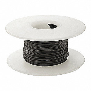 100 ft. Kynar® KSW Wire Wrapping Wire with 30 AWG Wire Size, Black