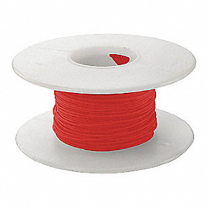 1000 ft. Kynar® KSW Wire Wrapping Wire with 30 AWG Wire Size, Red
