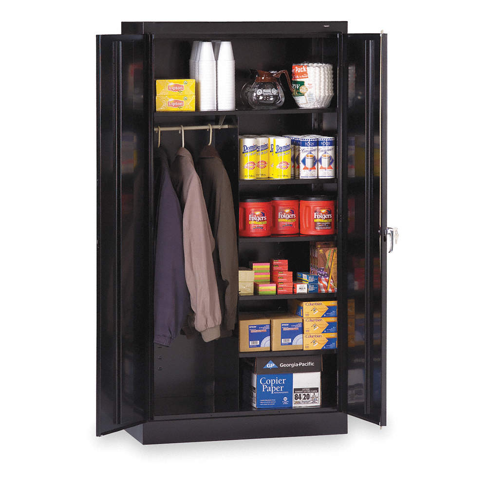 Zoom out reset put photo at full zoom then double click commercial storage cabinet black